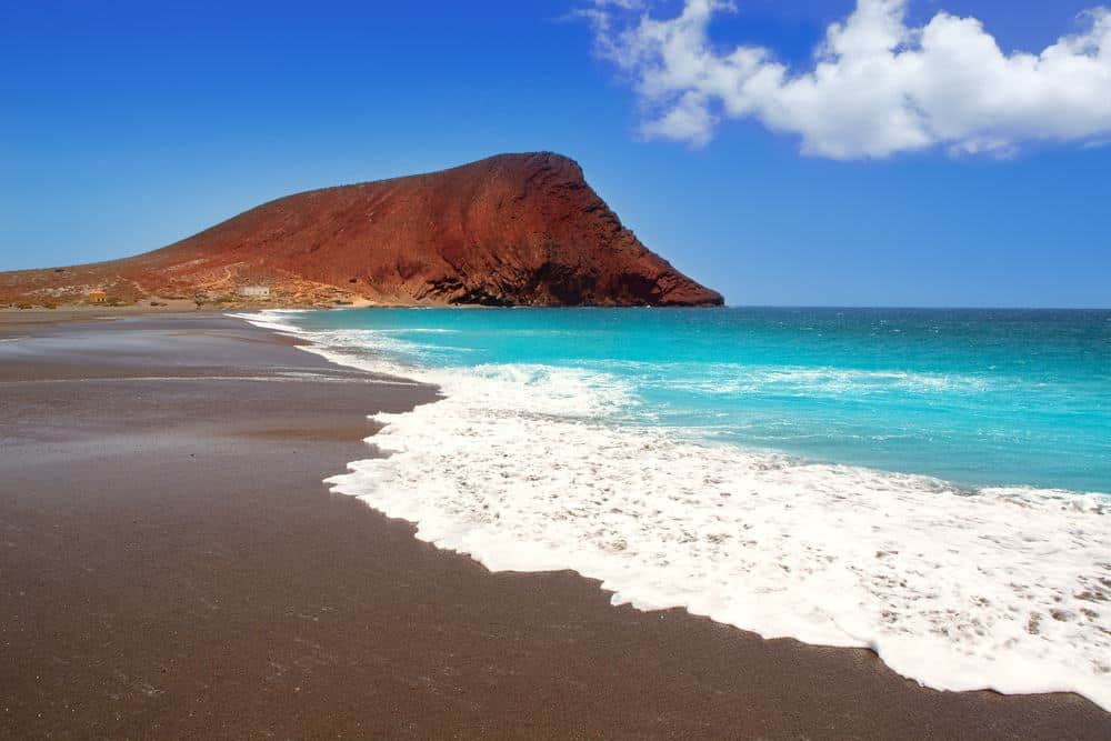 best beaches in tenerife, volcanic sand beach, golden sand beach, las teresitas beach, costa adeje beach, scenic beach, secluded beach in tenerife, canary islands