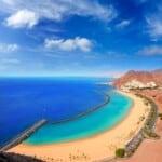 best beaches in tenerife, volcanic sand beach, golden sand beach, las teresitas beach, costa adeje beach, scenic beach, secluded beach in tenerife, canary islands, los gigantes