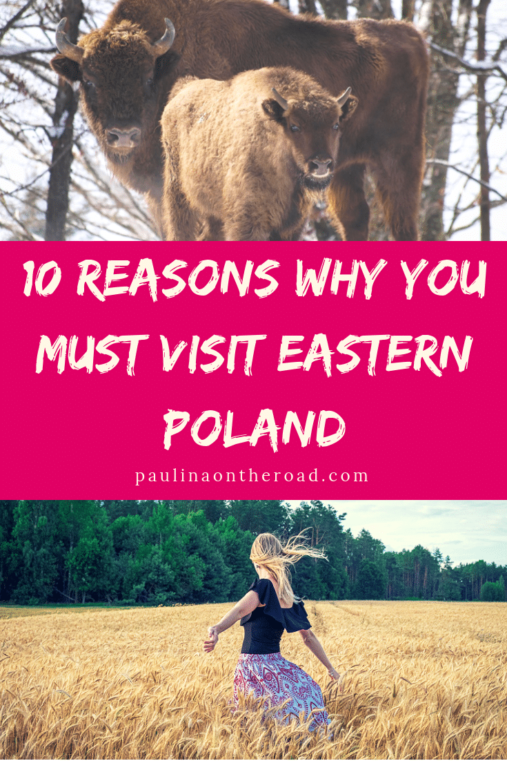 Why travel to Podlasie, Poland? Because Eastern Poland will knock you over: amazing Polish food, unique nature and Slavic traditions. Let's visit! #poland #podlasie #podlasiepoland #easternpoland
