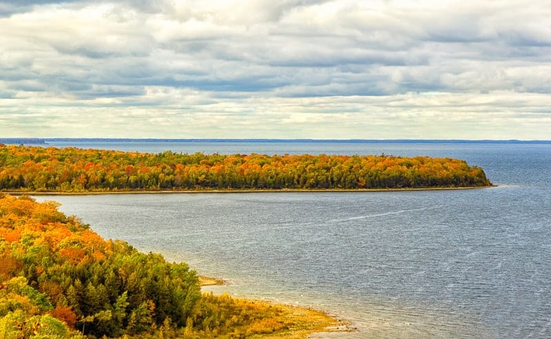 Door County, Wisconsin, the beauty of autumn