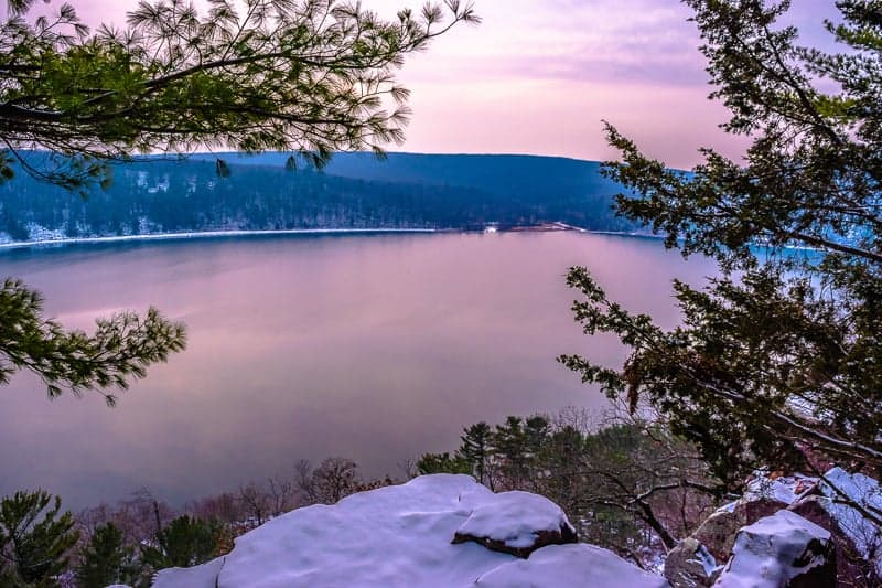 wisconsin day trips for families, This was a wonderful winter hike at Devil's Lake in Wisconsin