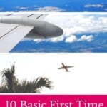 Enjoy your first flight with these 10 Basic First Time Flyer Tips including information on travel clothes and EU flight regulations. #firsttimeflyer #flightregulations