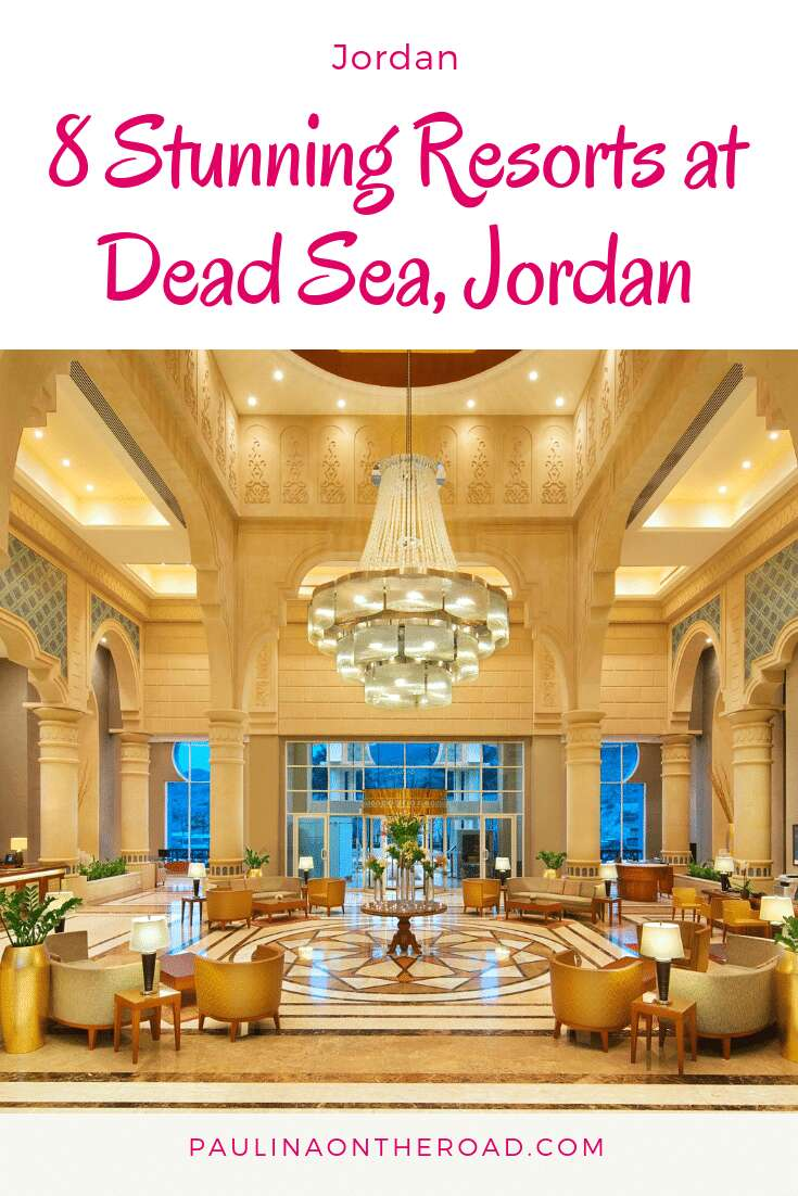 An ultimate guide to the best Dead Sea Jordan Resorts incl Dead Sea Mud Spa treatments, luxury spa experiences at the Dead Sea and day trips. Pamper yourself at Jordan Dead Sea! #jordan #deadsea #jordandeadsearesorts #deadseaspa