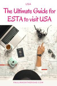 Do I need ESTA visum to visit the USA? All you need to know about ESTA application including delays, costs and procedures. #estavisum #ustravel #usatravel #visitusa #firsttimetravel #planetravel #planetraveltips #vistus