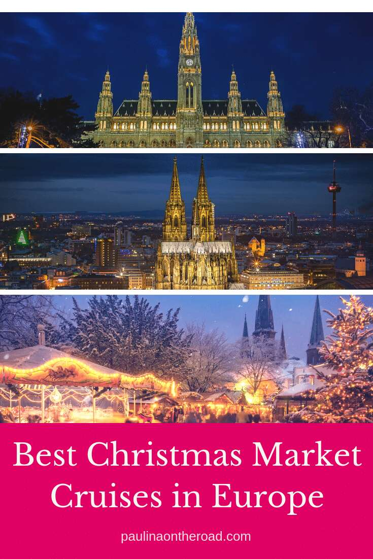 Fancy a different Christmas? Go onboard and visit the best European Christmas Markets with a river cruise in Europe during winter incl. the best Rhine Christmas Markets Germany. #europeanchristmasmarkets #christmasmarketsgermany #christmasmarketsineurope #wintercruise #rivercruiseeurope