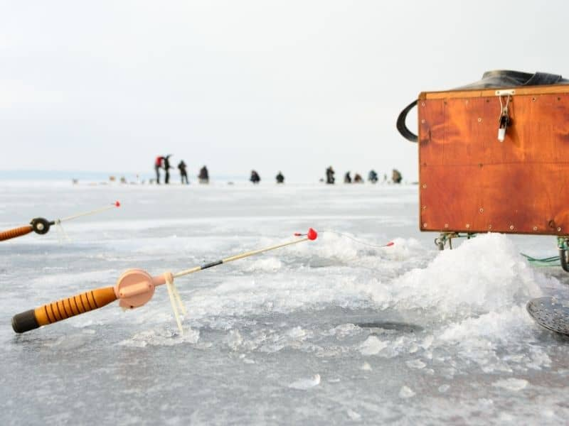 Wisconsin romantic getaways, ice fishing Field