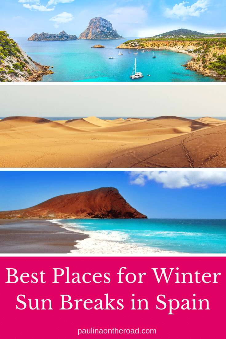 Looking for winter holidays destinations? Spain has all you need for winter sun getaway. This articles gives you the best places for winter holidays in Spain incl. winter accommodation, short winter sun city breaks. #winterholidays #winterholidaysdestinations #spain #wintersun #wintertravel