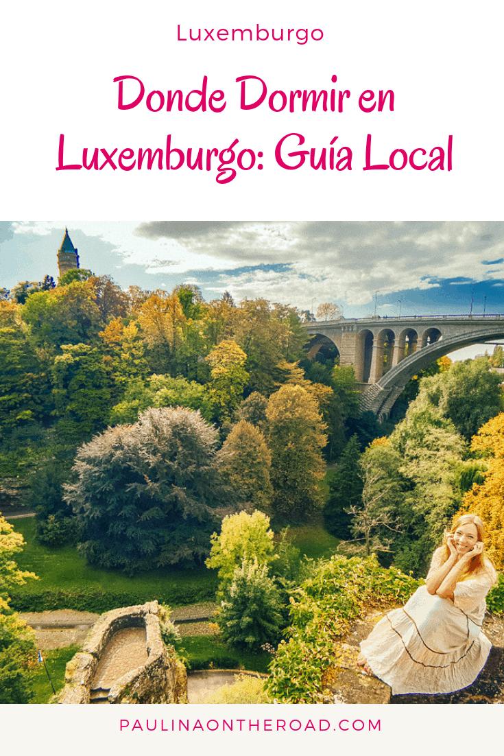 Cuales son los mejores hoteles en Luxemburgo? Esta guía de una local te cuenta donde encontrar alojamiento barato en Luxemburgo, hoteles de lujo, hostales y mas. #luxemburgo #luxemburgohoteles #viajarporeurope #viajar