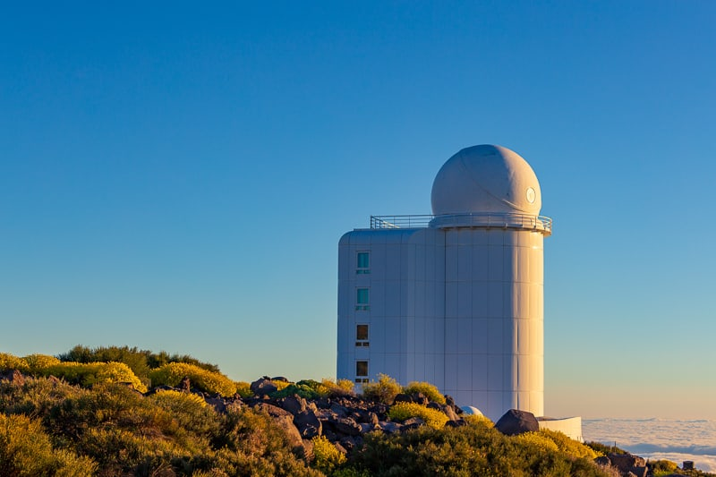 Teide astronomical observatory in Tenerife Island, Spain. things to do in tenerife with kids