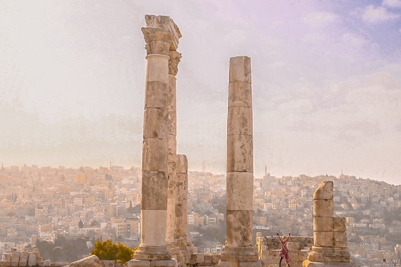things to do in jordan, amman citadel