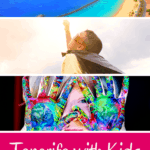 Are you planning a family holiday in Tenerife? This guide gives you creative ideas of things to do in Tenerife with kids. Whether you fancy water parks or family resorts,family vacations in Tenerife promise a blast! #tenerife #spain #canaryislands #familyholidays #visitspain #familyvacation #withkids #kidstravel