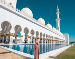 abu dhabi itinerary, 2 days in abu dhabi, 48 hours in abu dhabi, abu dabi, sheikh zayed mosque, ferrari world, louvre abu dhaabi, what to do in abu dhabi