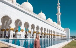 abu dhabi itinerary, 2 days in abu dhabi, 48 hours in abu dhabi, abu dabi, sheikh zayed mosque, ferrari world, louvre abu dhaabi, what to do in abu dhabi