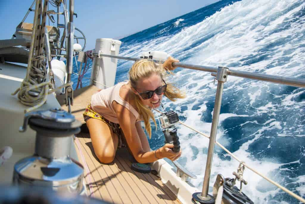 Why Sailing is the Best Form of Sustainable Travel, sailing boat, sea, boat hitchhiking, sustainable travel, diving, slow travel