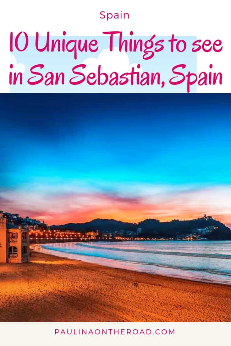 Are you traveling to San Sebastian, Spain? Get inspiration on the best things to do in San Sebastian including the best beaches, a food tour and walking tour to all attractions. #spain #visitspain #sansebastian #sansebastianspainthingstododo #sansebastianphotgraphy #northspain #europetravel #europeancities #citytravel