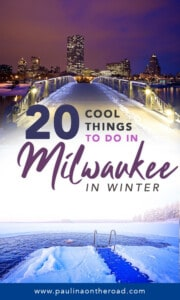 What to do in Milwaukee in Winter? This guide takes you to the most fun Milwaukee winter activities incl. winter festivals, Christmas shopping in Milwaukee, Wisconsin. #milwaukeewinter #milwaukeewisconsin #milwaukeewinteractivities