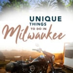 A selecton of cool things to do in Milwaukee. Explore the best places to see in Milwaukee and where to eat in Milwaukee. #milwaukee #wisconsin #midwest