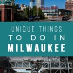 A selectoin of cool things to do in Milwaukee. Explore the best places to see in Milwaukee and where to eat in Milwaukee. #milwaukee #wisconsin #midwest