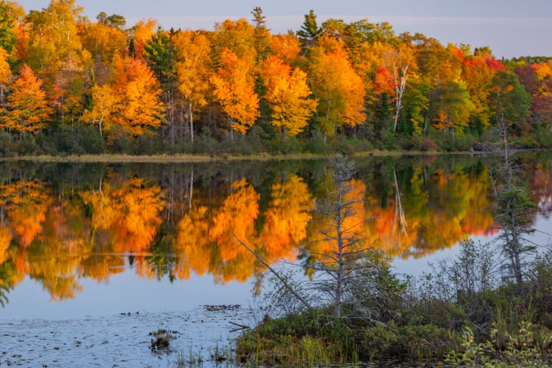 Wisconsin in fall, best lakes in wisconsin, best wisconsin state parks