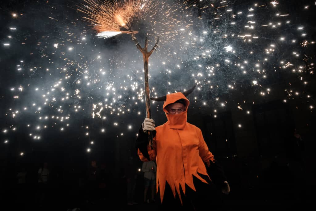 correfocs tradition spain