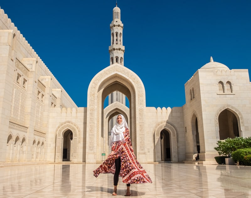 oman itinerary, things to do in oman, 10 days in oman, what to do in oman, sultan qaboos grand mosque