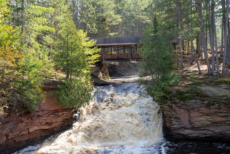amnicon falls state park, wisconsin, best wisconsin state parks, state parks in wisconsin
