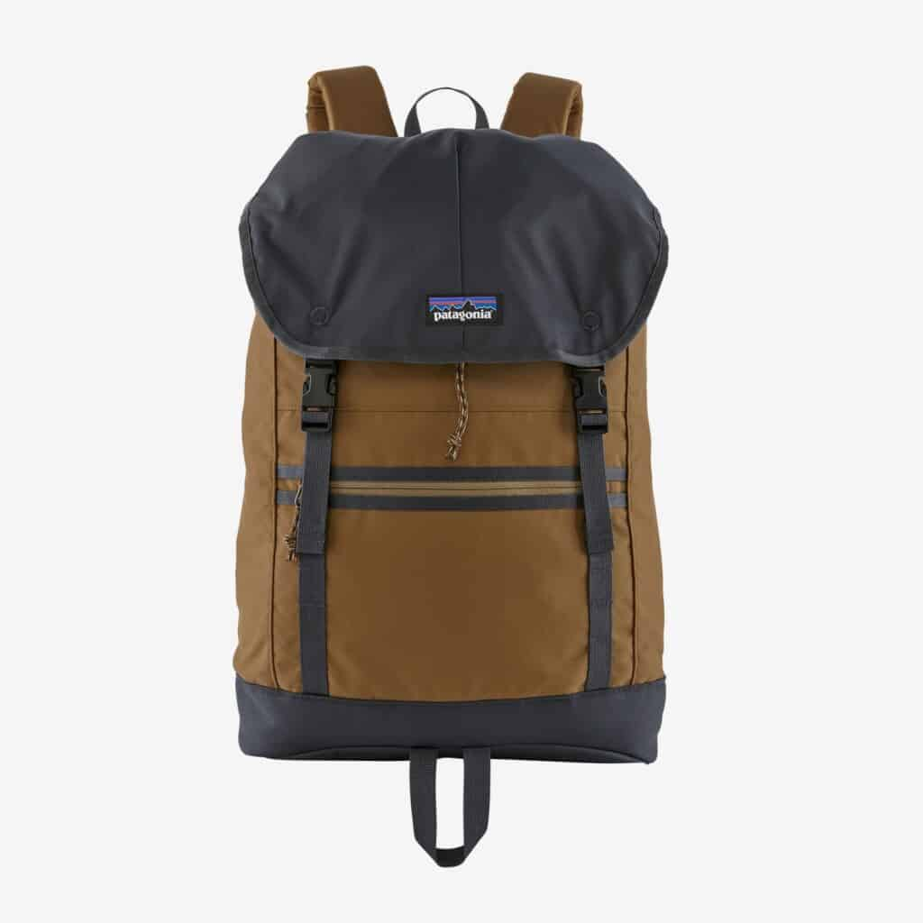 Patagonia Arbor Classic Backpack 25, best backpacks from recyclded materials
