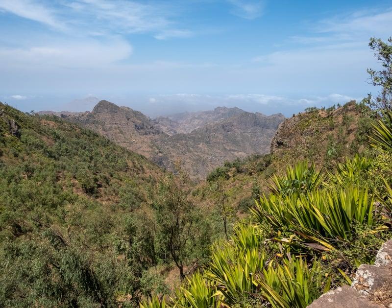 things to do in santiago, serra malagueta mountain view
