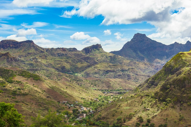 things to do in cape verde, cabo verde, santiago island, hiking, serra malagueta
