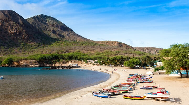 things to do in cape verde, cabo verde, tarrafal beach, santiago island