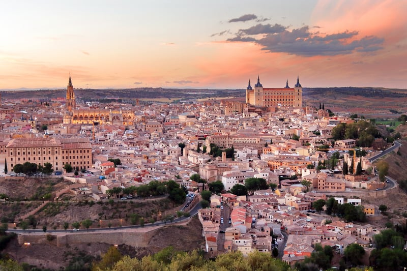 best paradores in spain, toledo parador, paradores near madrid