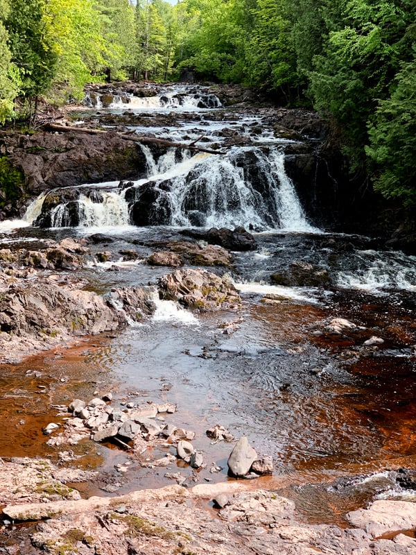 copper falls in wisconsin, best state parks in wisconsin, wisconsin state parks
