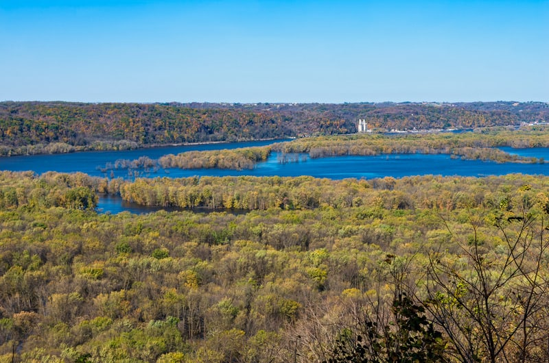 wyalusing state park wisconsin, best state parks in wisconsin
