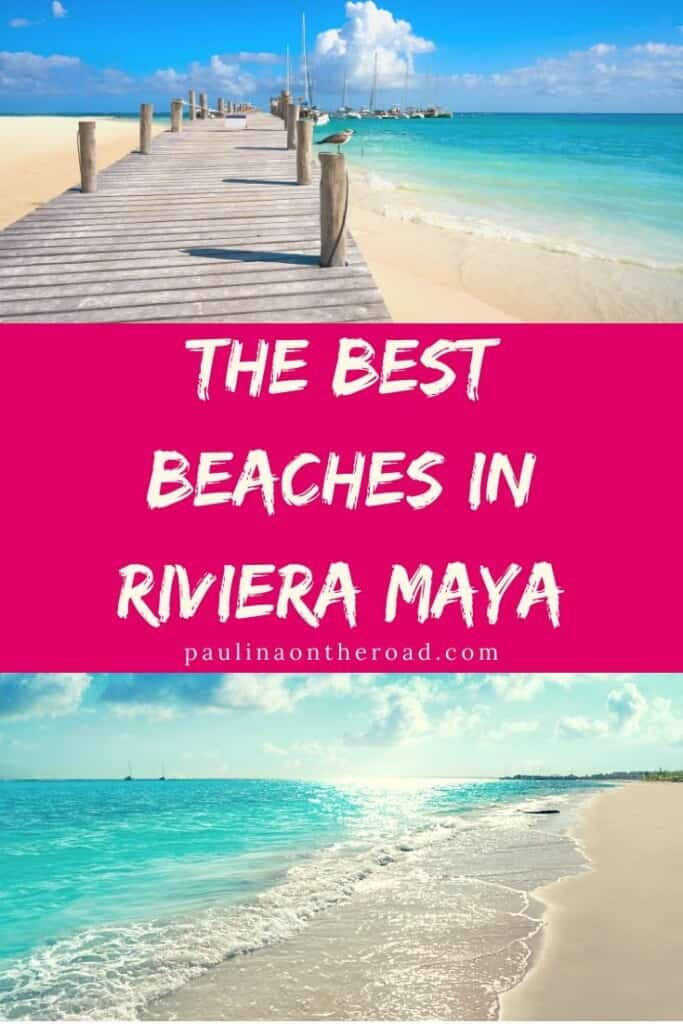 Looking for the best beaches in Riviera Maya, Mexico? This guide takes you right to the best Mayan Riviera beaches in Mexico. #mexico #rivieramaya #tulum #playadelcarmen #beachholidays #adultsonly #beachresorts