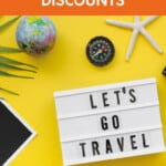 Want to travel cheaper? Find unique travel discounts and travel deals to travel for less. Perfect for those who travel on a budget and want to sae money while traveling. #travel #travelcheaper #traveldeals #discount #coupon #savemoney #budgettravel #forfree