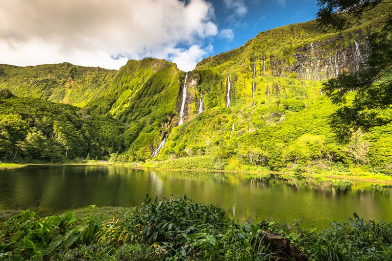 Hiking Faja Grande, Flores Island, best hiking trails in azores