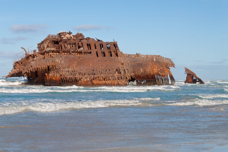 things to do in boa vista, cape verde, Shipwreck from Boa Vista, Cape Verde