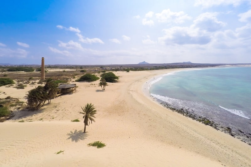 things to do in boa vista, cape verde, Praia de Chaves Beach