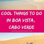 Wondering what to do in Boa Vista, Cape Verde? A selection of the best beaches in Boa Vista island, Cape Verde incl. best hotels in Boa Vista such as Boa Vista Cape Verde Touareg Hotels and many more. #capeverde #boavista #boavistacapeverde #islandholidays #capeverdeholiday #capverdevacation #caboverde