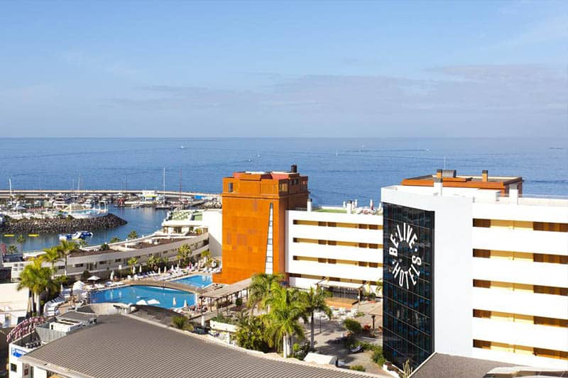 Best Family Hotels in Tenerife, Top View of hotel BeLive Experience La Nina