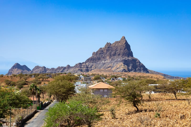 Things to do in Santiago Island, Cape Verde, Brianda mount view in  Rebeirao Manuel in Santiago.