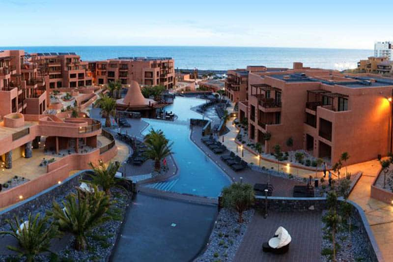 Best Family Hotels in Tenerife, Top view of Sandos San Blas Eco Resort