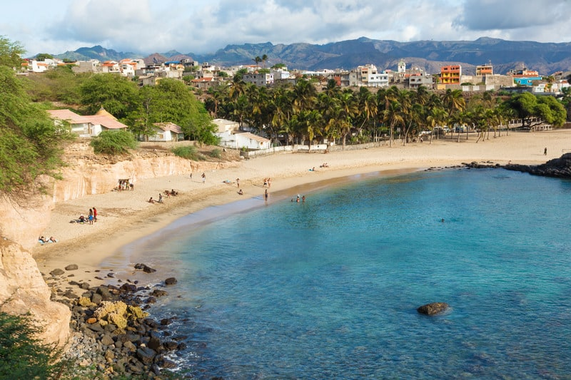Things to do in Santiago Island, Cape Verde, View of Tarrafal beach in Santiago island