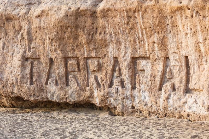 Tarrafal beach in Santiago island in Cape Verde - Cabo Verde, santiago attractions
