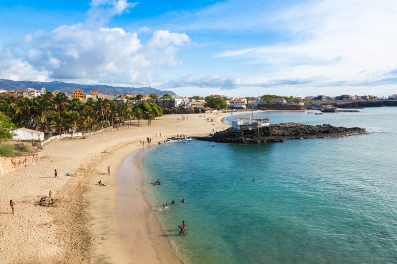 Things to do in Santiago Island, Cape Verde, View of Tarrafal Beach