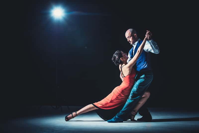 Loving staycation ideas for couples, Couple Dancing Under Light