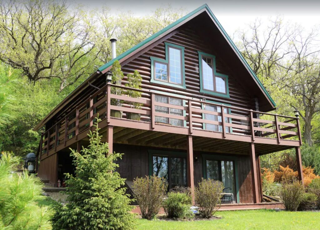 brodhome wisconsin cabin log home