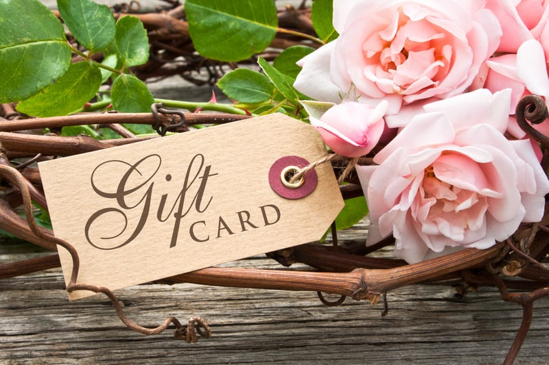 pink roses with label with lettering gift card, How to Support Small Business, How to help Small Business, local shops, small entrepreneur