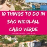 Wondering about what to do in Sao Nicolau, Cape Verde? Here's the ultimate guide with the best things to do in Sao Nicolau, Cabo Verde. It's one of the less known Cape Verde islands however there are plenty of options for outdoor travelers, hiking lovers and beach enthusiasts. Find a selection with the best hotels, best beaches and where to eat. #caboverde #capeverde #saonicolau #capeverdeislands #capeverdean #islandlife #hiking #outdoors