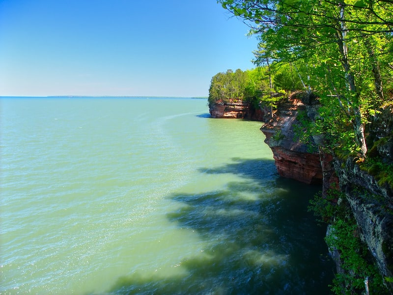 Things to do in Apostle Islands, WI, Side view of one Island